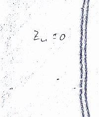 Zifferblatt unten