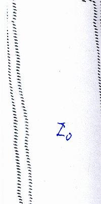 Zifferblatt oben